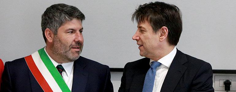 Francesco Nelli e Giuseppe Conte