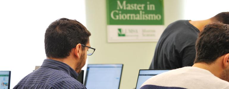 Master in Giornalismo a Roma: Open day 14 giugno all'Università LUMSA