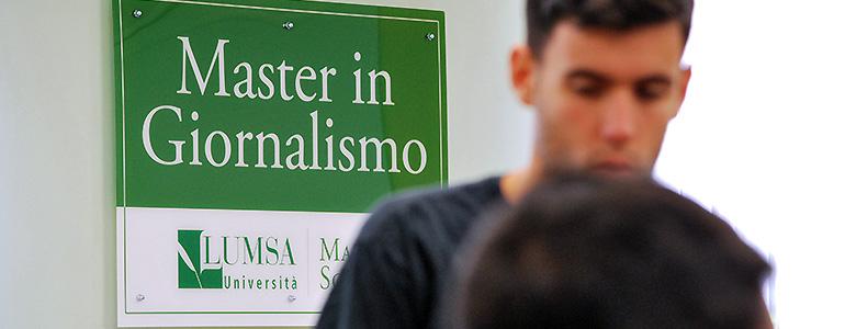 Pietro Grasso alla LUMSA per il Master in Giornalismo