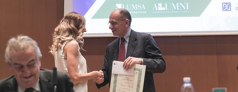 Premiazione dei migliori laureati 2016-2017